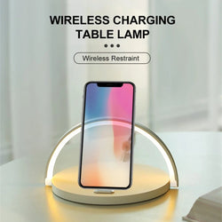 Minimal Table Lamp Wireless Charger