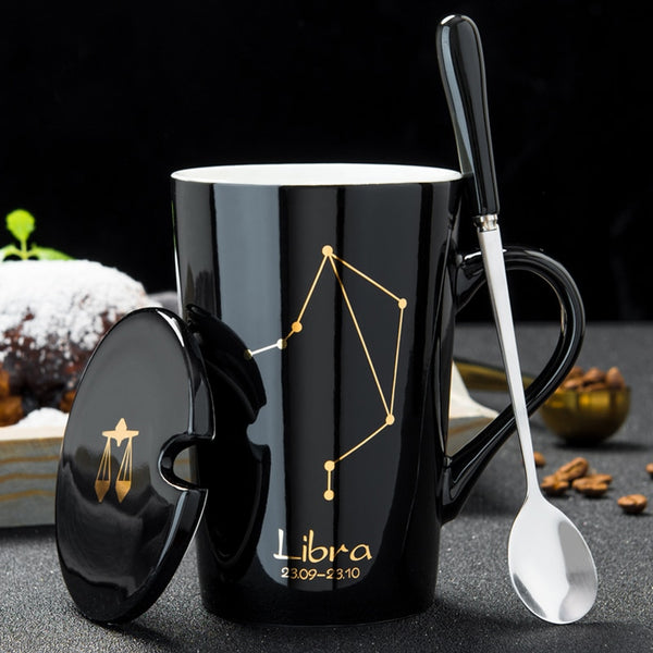 12 Zodiac Constellations Mugs - LEMI Décor