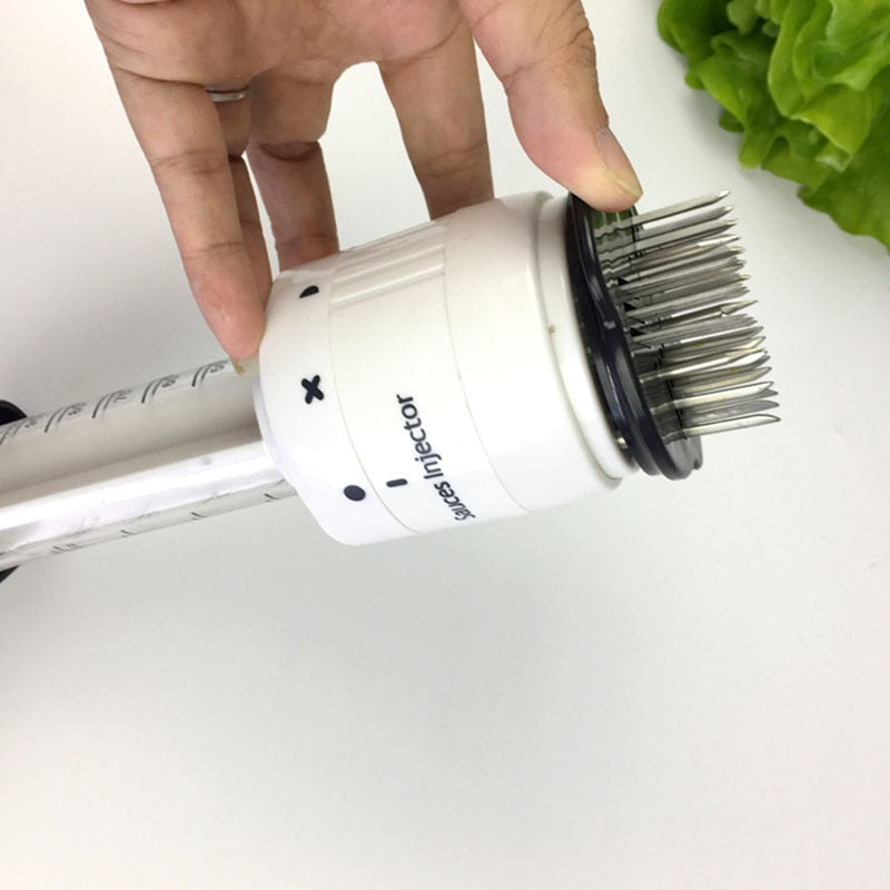 2-in-1 Meat Tenderizer & Sauce Injector