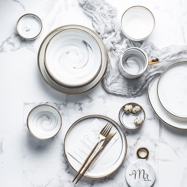 Marvelous Marble Dining Collection - LEMI Décor