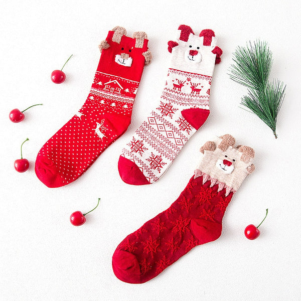 Christmas Gift Box: Cute Socks - LEMI Décor