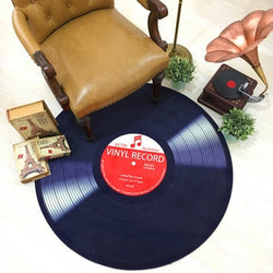Retro Vinyl Record Floor Mat