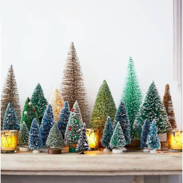 8Pcs/Set Mini Christmas Tree