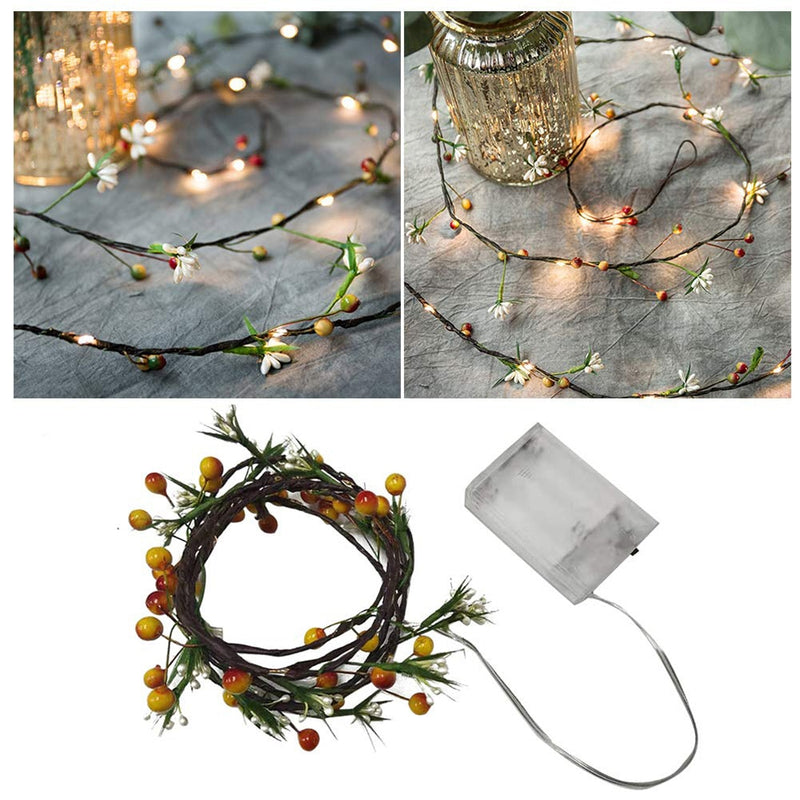 Little Wildflower String LEDs Light Decoration