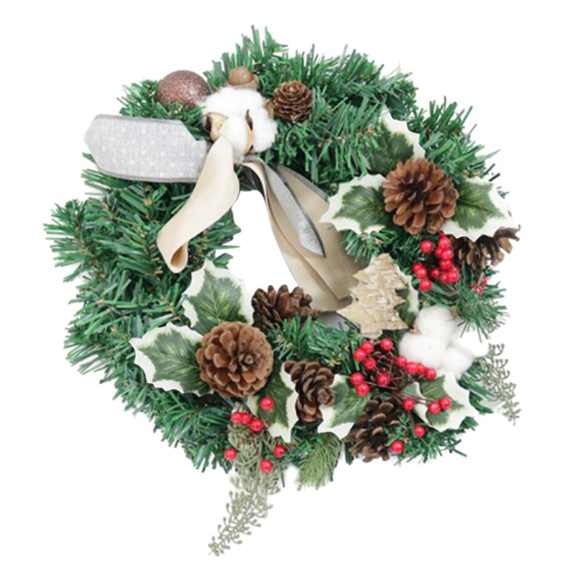 Jolly Christmas Hanging Wreath