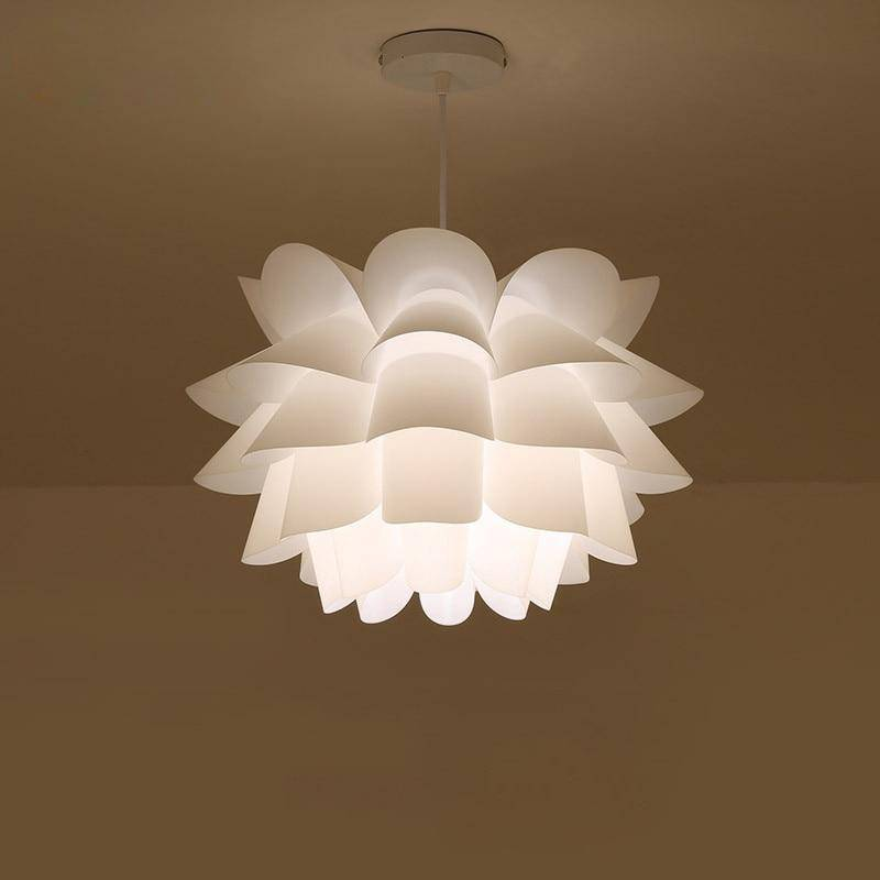 Charming Lotus DIY Pendant Light