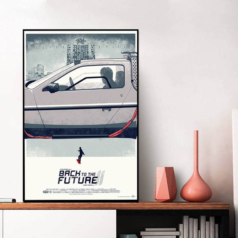 Back To The Future Car Wall Poster