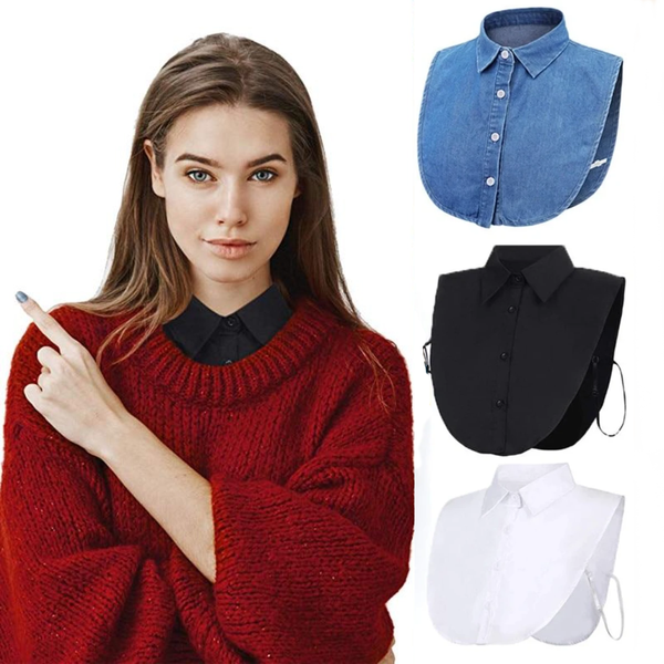 Detachable Shirt Collar Outfit Accessories