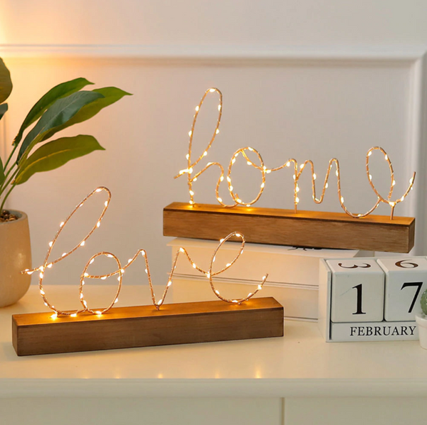Warmly Romantic Love Light - LEMI Décor