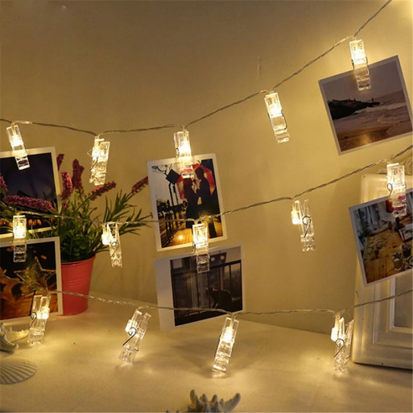 Decorative Photo Clip String Led Light