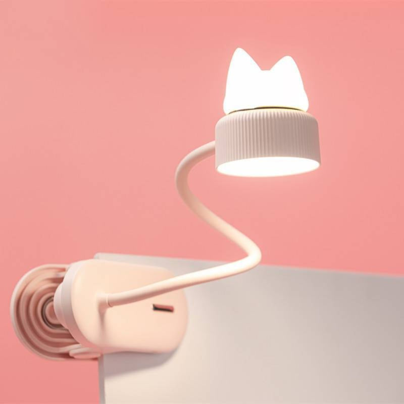 Cat Clip-on Reading Lamp