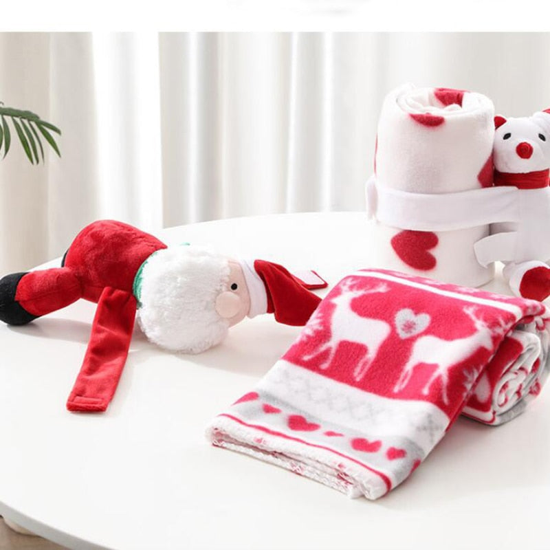 Christmas Baby Coral Fleece Blanket
