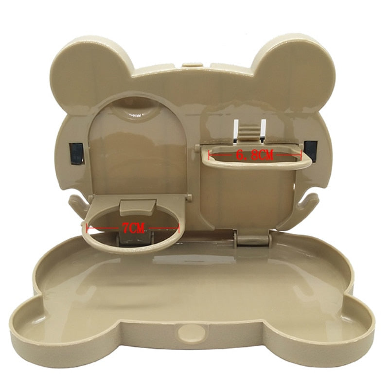 Cute Travel Car Baby Dining Table