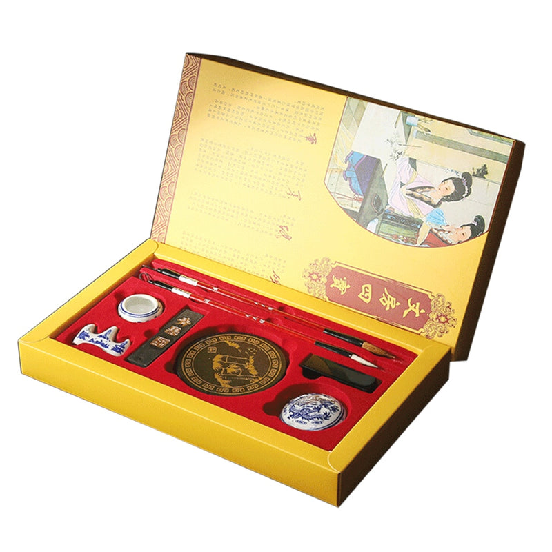 Chinese Calligraphy Writing Set With Gift Box