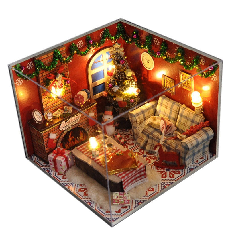 Night Before Xmas DIY LED Dollhouse