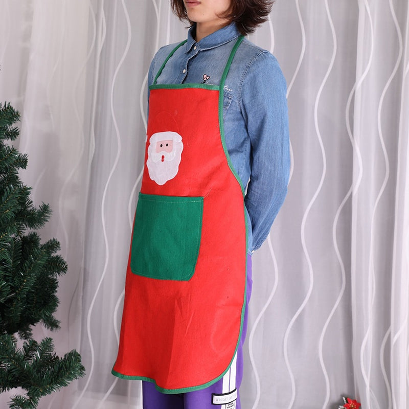 Santa Cooking Kitchen Apron
