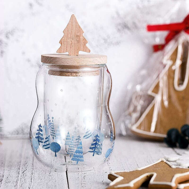 Christmas Wish Glass Cup