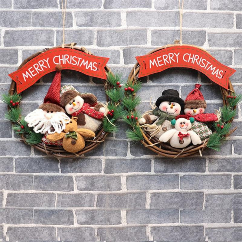 Merry Christmas Wreath Décor