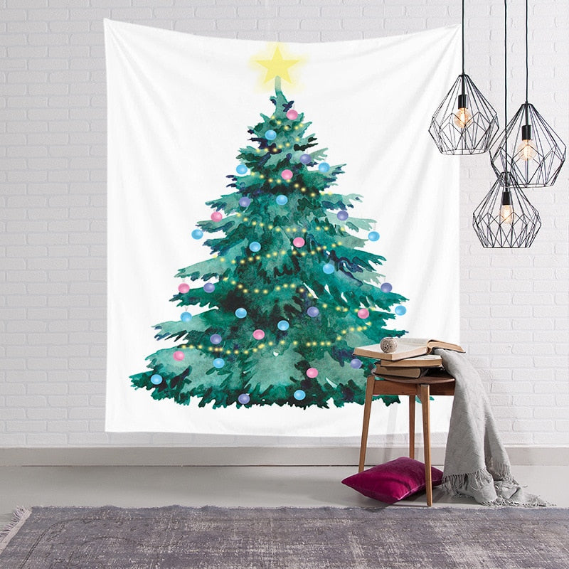 Christmas In My Heart Cloth Tapestry