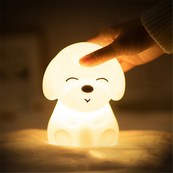 Colorful Puppy LED Night Light - LEMI Décor