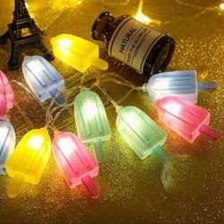 Creative Ice Cream String Lights