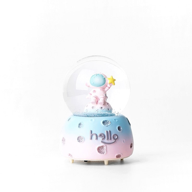 Hello Planet Astronaut LED Crystal Ball
