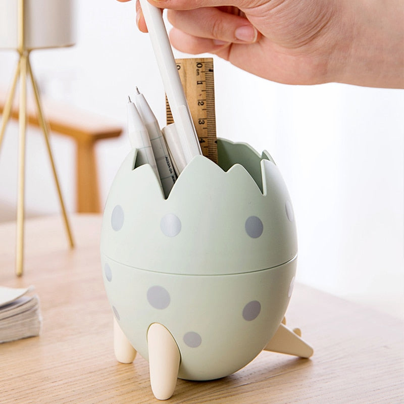 Cute Dinosaur Egg Desktop Storage Box