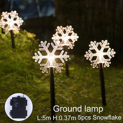 5Pcs/Set Christmas LED Outdoor Lights
