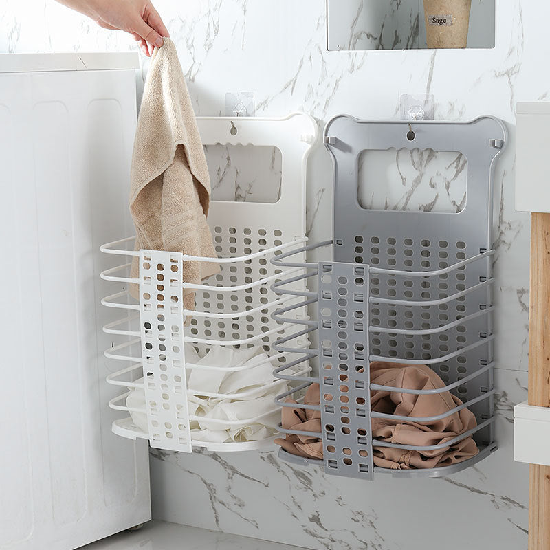 Collapsible Hanging Laundry Basket