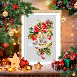 Christmas Bells DIY Cross Stitch Kit