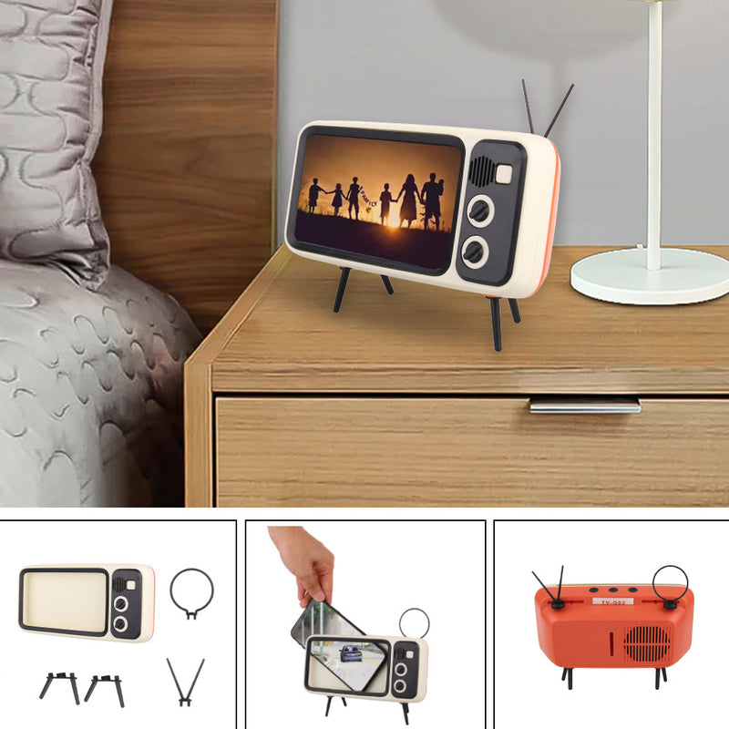 Retro Mini TV Phone Holder