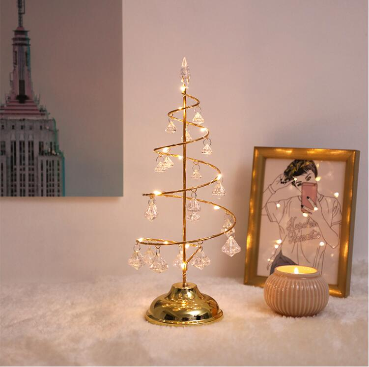 Crystal LED Christmas Tree
