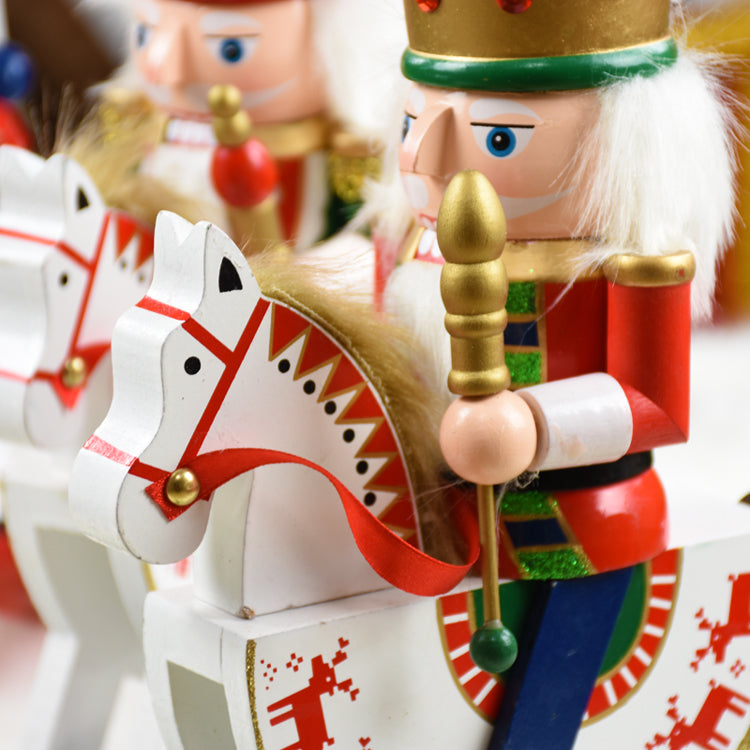 The Christmas Craft: Riding White Rocking Horse - LEMI Décor