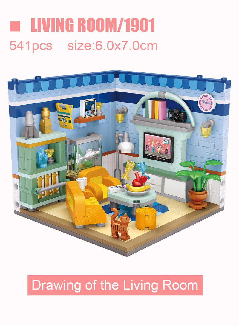 My Dream House DIY Building Blocks Toy