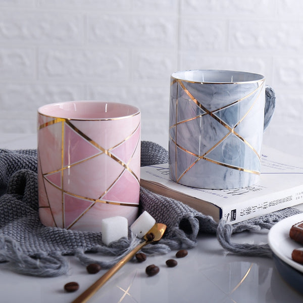 London Marble Mug - LEMI Décor