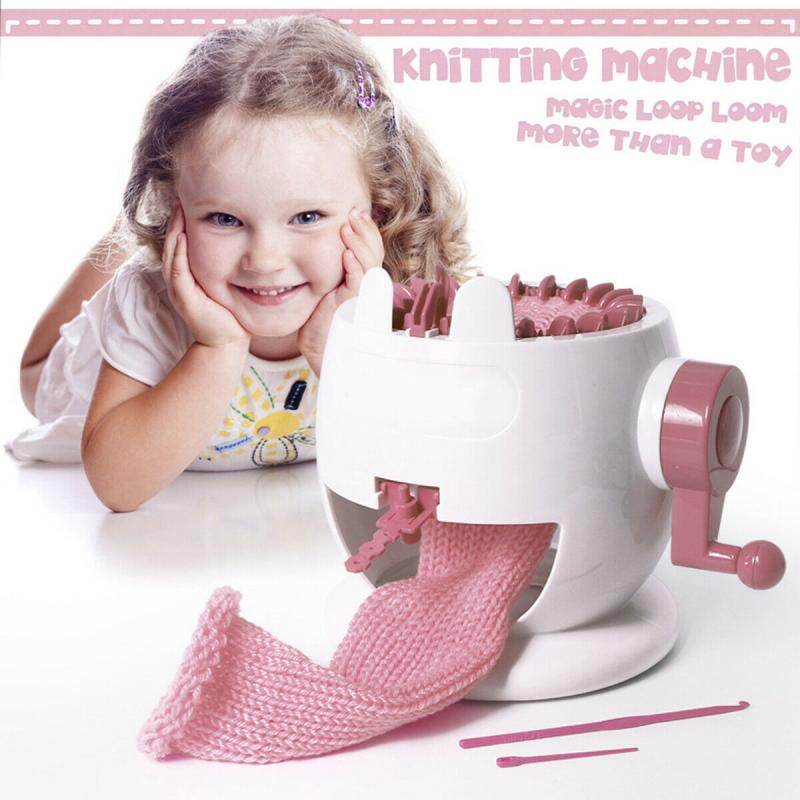Pinky Wool Knitting Machine