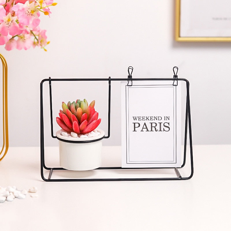 Nordic Display Stand with Planter