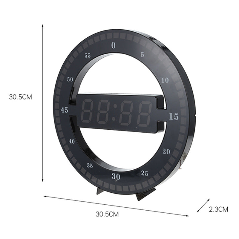 The 2020 Smart Digital LED Wall Clock - LEMI Décor
