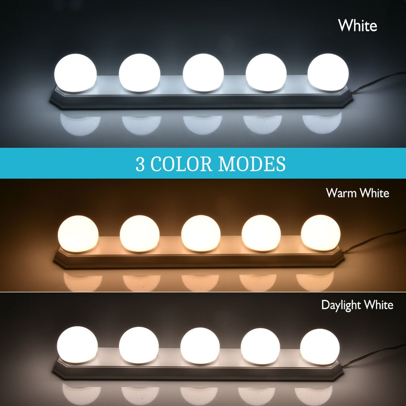 Luxury LED Vanity Mirror Lights Kit