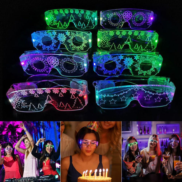 Magic Xmas Party Luminous Glasses