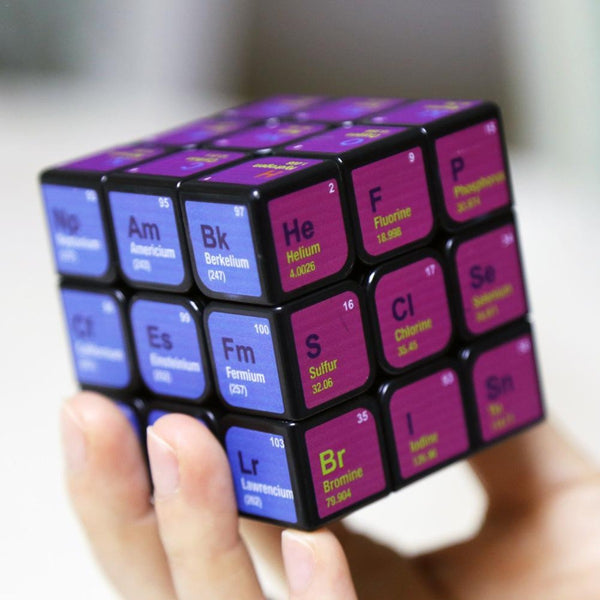 Chemical Element Periodic Table 3rd-order Cube