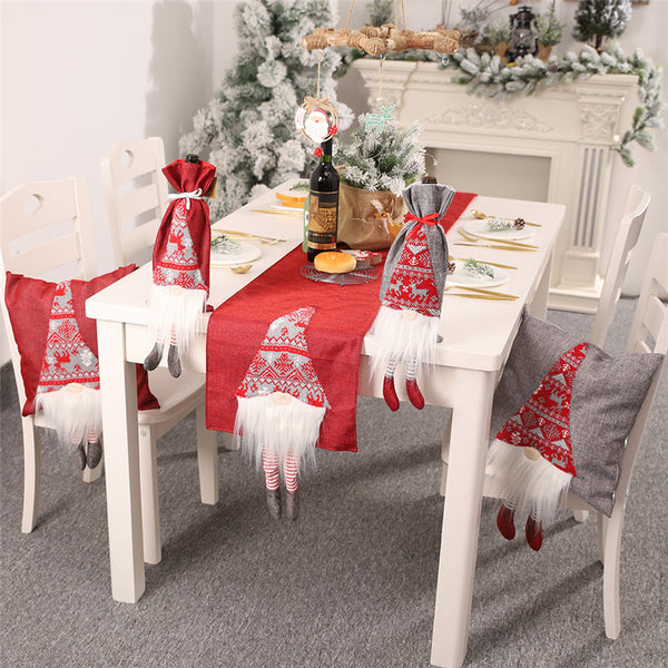 Santa Claus Table Runner Decoration - LEMI Décor