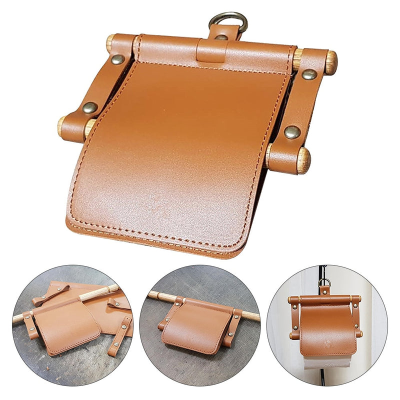 Nordic Leather Toilet Paper Holder