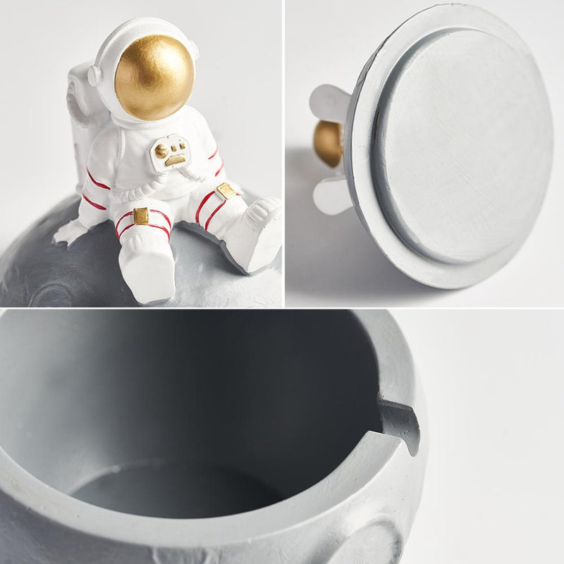 Astronaut Resin Ashtray