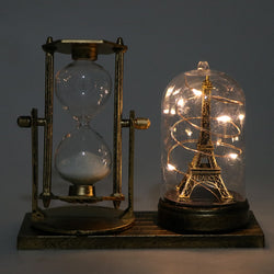 Retro Eiffel Tower Hourglass Timer