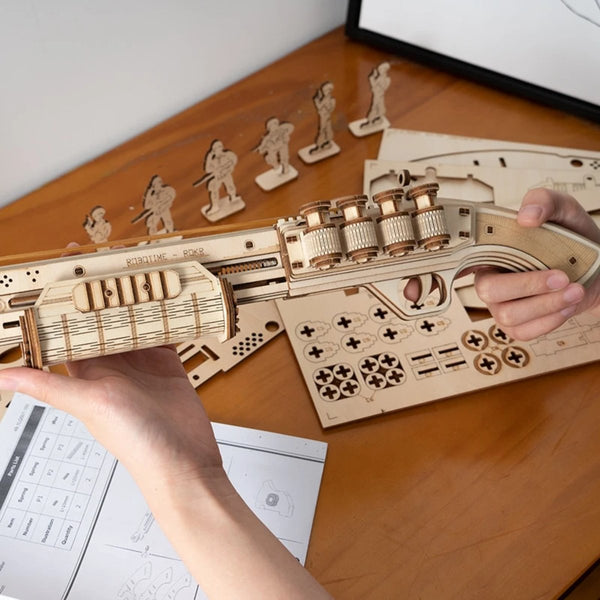 The Guardian DIY 3D Wood Craft