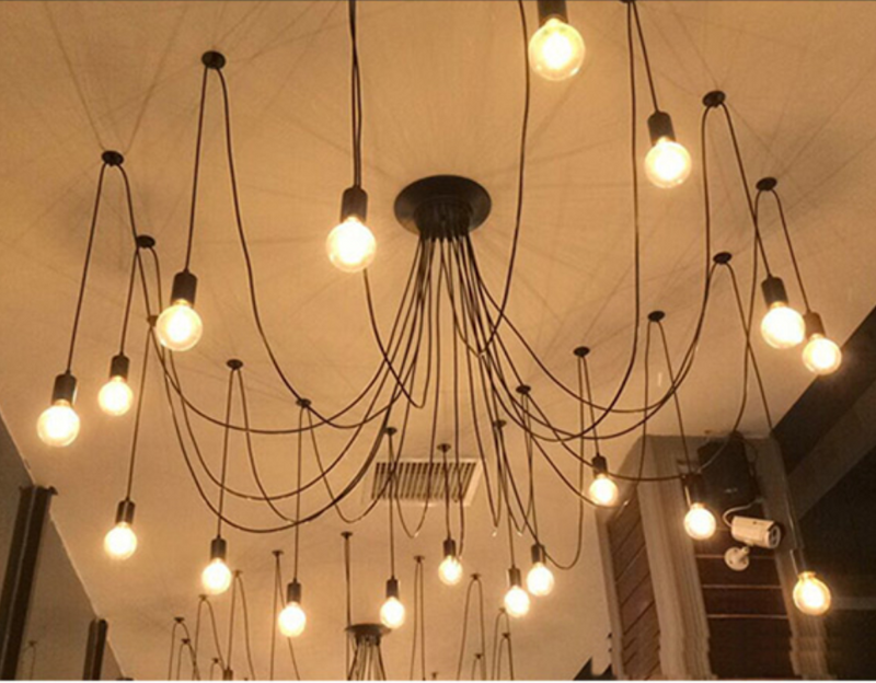 Industrial Ceiling Chandelier - LEMI Décor