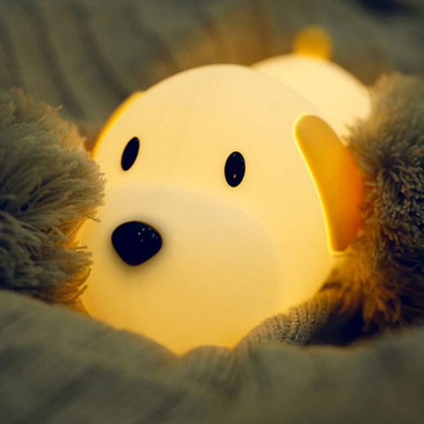 Buffy - Soft Cartoon Puppy LED Night Light