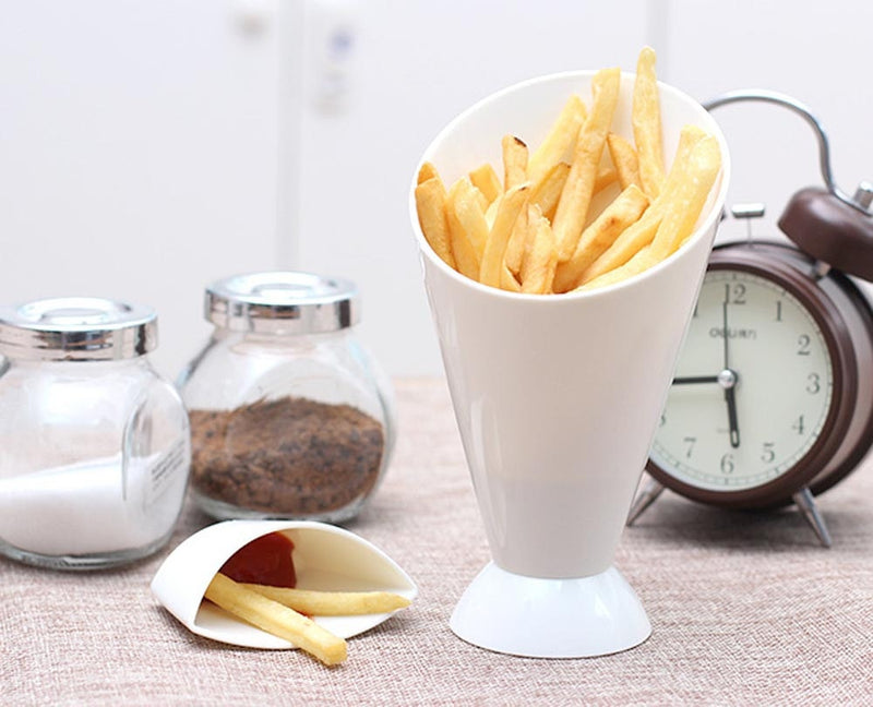 Aline Creative French Fries Cone Cup