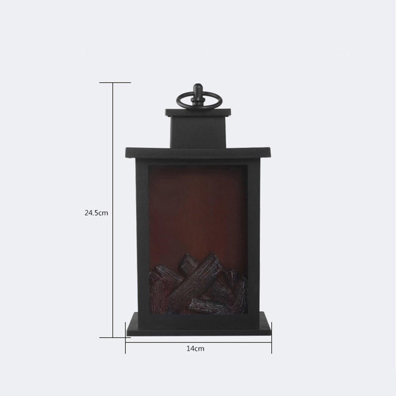 Classic Fireplace LED Lamp